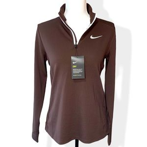 🖤 NIKE | Dri-Fit 1/4 Zip Long Sleeve Pull Over